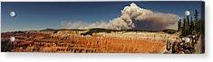 Wildfire Cedar Breaks National Monument Utah Acrylic Print