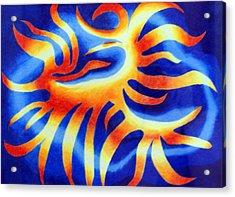 Wildfire Acrylic Print by Tina Storey