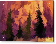 Wildfires Acrylic Print