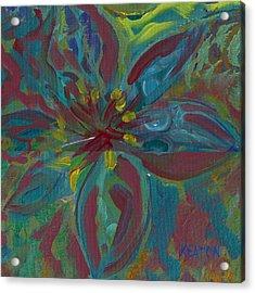 Wildflower 1 Acrylic Print by John Keaton