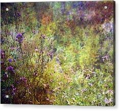 Wildflower Garden Impression 4464 Idp_2 Acrylic Print