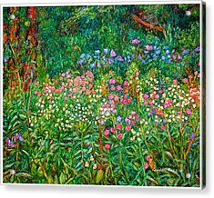 Wildflowers Near Fancy Gap Acrylic Print