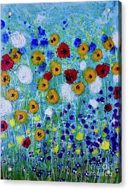 Wildflowers Never Die Acrylic Print