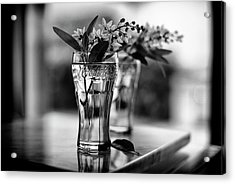 Acrylic Print featuring the photograph Wildflowers Still Life by Laura Fasulo