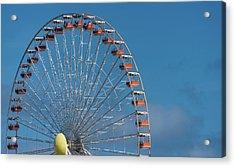 Wildwood Ferris Wheel Acrylic Print