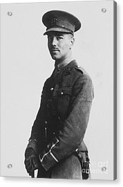 Wilfred Owen (1893-1918) Acrylic Print by Granger