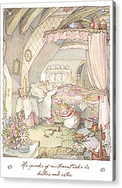 Wilfred's Birthday Morning Acrylic Print by Brambly Hedge