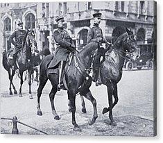Wilhelm II, Emperor Of Germany, Riding Acrylic Print by Vintage Design Pics