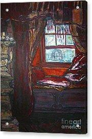 Wilhelmina's Windowseat Acrylic Print