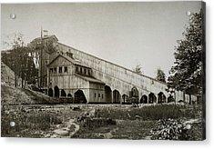 Wilkes Barre Twp Pa Empire Number 5 Coal Breaker 1880 Lehigh And Wb Coal Co. Acrylic Print