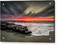 Acrylic Print featuring the photograph Will Of The Wind by Peter Tellone