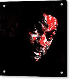 Will Smith 4e Acrylic Print by Brian Reaves