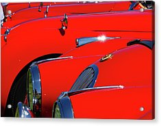 Acrylic Print featuring the photograph Will The Owner Of The Red Car by John Schneider