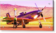 Will Whiteside And P-51 Mustang 'voodoo' Acrylic Print
