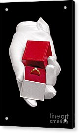 Will You Marry Me Acrylic Print by Richard Thomas