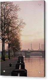 Willamette Riverfront, Portland, Oregon Acrylic Print