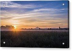 Willamette Valley Sunrise Acrylic Print