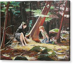 Willard Brook State Park Acrylic Print