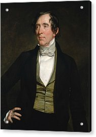 William C. Preston Acrylic Print by George Peter Alexander Healy