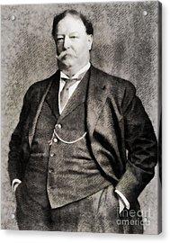 William Howard Taft, President Of The United States By John Springfield Acrylic Print by John Springfield
