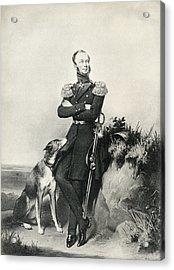 William II, Willem Frederik George Acrylic Print by Vintage Design Pics