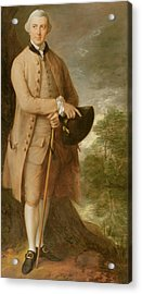 William Johnstone Pulteney Acrylic Print by Thomas Gainsborough
