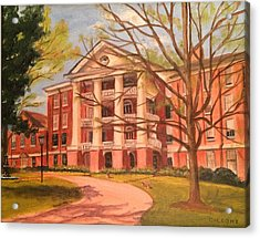 William Peace University Acrylic Print