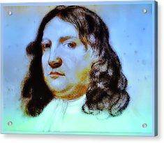 William Penn Portrait Acrylic Print by Bill Cannon