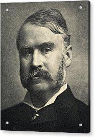 William Schwenck Gilbert,1836-1911 Acrylic Print by Vintage Design Pics