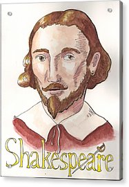 William Shakespeare Acrylic Print