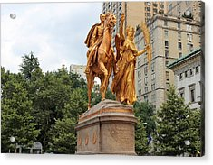 William Tecumseh Sherman Acrylic Print by David Zuhusky