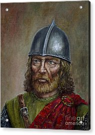 William Wallace Acrylic Print by Arturas Slapsys
