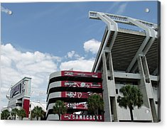 Williams Brice Stadium  II Acrylic Print by Ed Waldrop
