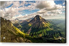 Williams Peak Alaska Acrylic Print