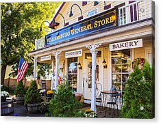 Williamsburg General Store Mass Acrylic Print