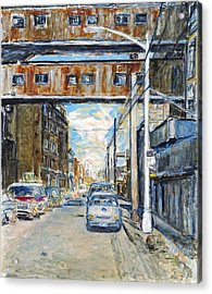 Williamsburg4 Acrylic Print by Joan De Bot
