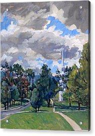 Williamstown Cloudy Acrylic Print