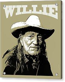 Willie 2 Acrylic Print by Greg Joens
