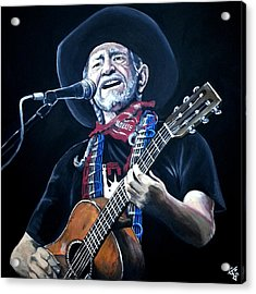 Willie Nelson 2 Acrylic Print