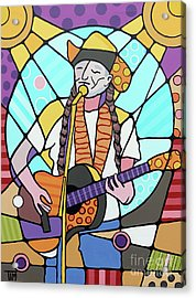 Willie Acrylic Print by Tim Ross