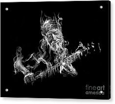 Willie - Up In Smoke Acrylic Print