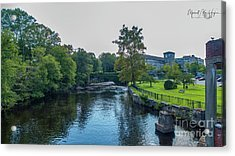 Willimantic River Acrylic Print