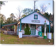 Willis' Grocery Acrylic Print by Jan Amiss Photography