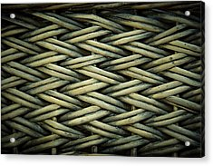 Acrylic Print featuring the photograph Willow Weave by Les Cunliffe