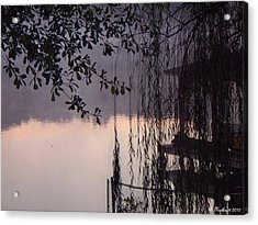 Willow's Dawn Acrylic Print