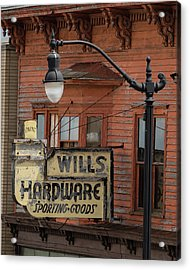Wills Hardware Acrylic Print
