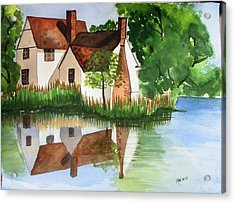 Willy Lotts Cottage Acrylic Print