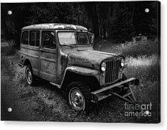 Willys Jeep Station Wagon Acrylic Print
