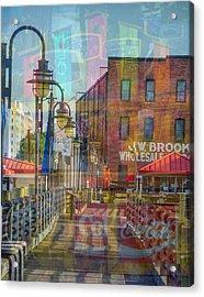 Wilmington North Carolina Riverfront Acrylic Print