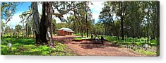 Acrylic Print featuring the photograph Wilpena Pound Homestead by Bill Robinson
